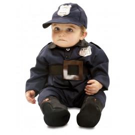 DISFRAZ POLICÍA BEBE 7-12 MESES