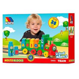 MOLTO BLOCKS TREN 28 PIEZAS
