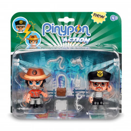 PIN Y PON ACTION PACK 2 FIGURAS