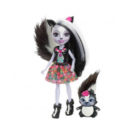 MUÑECA ENCHANTIMAL SAGE SKUNK & CAPER
