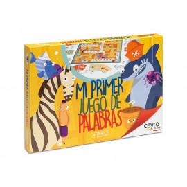 MI PRIMER JUEGO DE PALABRAS