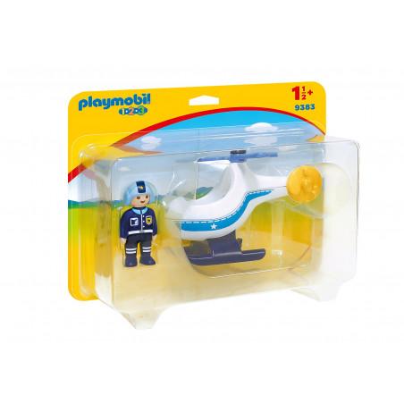 HELICOPTERO DE LA POLICIA 1 2 3 9383