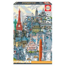 PUZZLE 200 PZAS PARIS