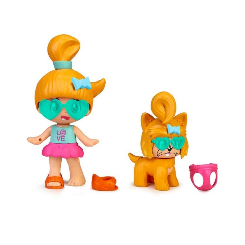 PIN Y PON MY PUPPY AND ME ORANGE HAIR