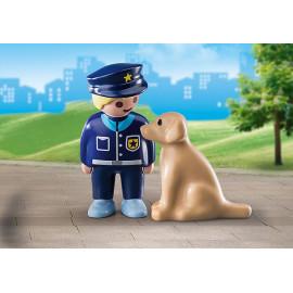 1 2 3 POLICIA CON PERRO 70408