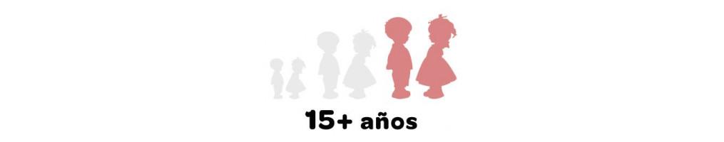 15+ años